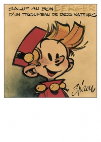 Spirou : version décor amateur du facsimilé grand format (50 x 70 cm)