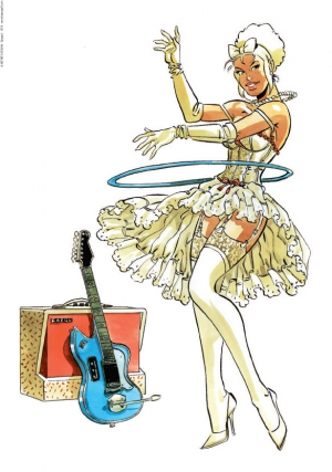 Pin-up Mirabelle Guitare 2018