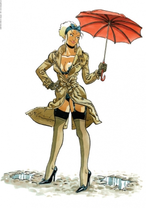 Pin-up Mirabelle Parapluie 2018