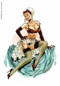 Pin-up Mirabelle Lingerie rouge 2020